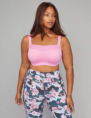 Lane Bryant Low Impact Wicking Balconette Underwire Sport Bra