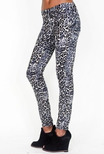 J Brand Snow Leopard Skinny