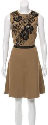 Etro Sleeveless Embroidered Dress