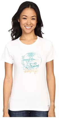 Life Is Good Beach Crusher Tee $24 thestylecure.com