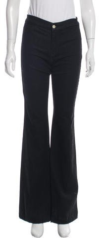 J BrandJ Brand High-Rise Wide-Leg Pants w/ Tags
