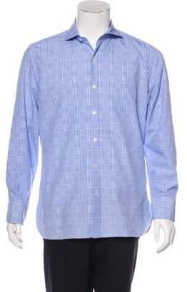 Tom Ford Houndstooth Woven Shirt