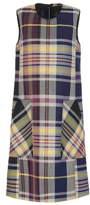 Bottega Veneta Checked shift dress