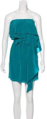 Haute Hippie Silk Mini Dress