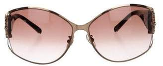 Chopard Round Gradient Sunglasses