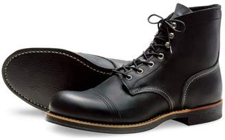 Red Wing Shoes Iron Ranger 6-Inch Boot, Black
