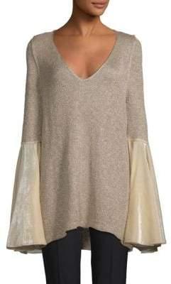 Free People Celestial Bell-Sleeve Sweater