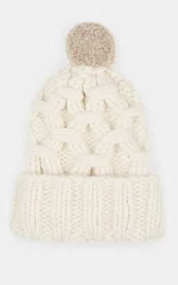 Lola Hats Women's Braces Alpaca-Blend Beanie - Cream