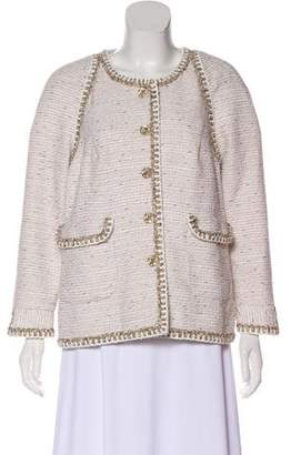 Chanel 2018 Paris-Greece Tweed Jacket