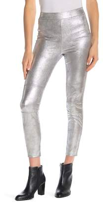 Splendid Metallic Seamed Leggings