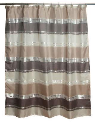 Famous Home Fashions Alta Stripe Shower Curtain