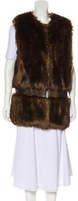 Gryphon Faux Fur Vest
