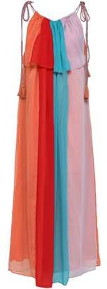 Antik Batik Anais Color-block Crepon Maxi Dress