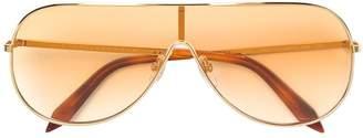 Victoria Beckham (ヴィクトリア ベッカム) - Victoria Beckham Visor aviator sunglasses