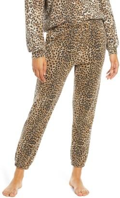 Rag Doll Ragdoll Leopard Print Jogger Pants