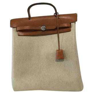 Hermes Herbag Cloth Backpack