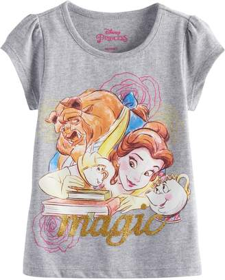 Kohl's Disney's Beauty and the Beast Belle, Beast, Chip & Mrs. Potts Toddler Girl Graphic Tee