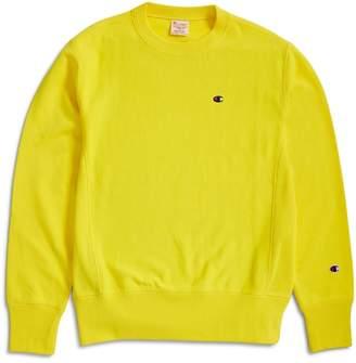 Champion Reverse Weave Crewneck Sweatshirt Yellow