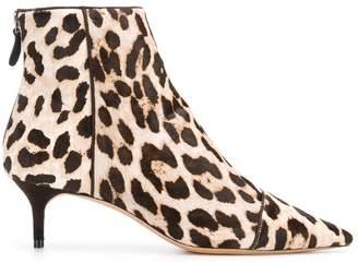 Alexandre Birman Kittie leopard print boots