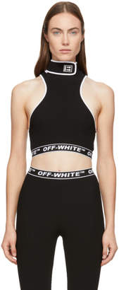 Off-White Off White Black Cannette Turtleneck Tank Top