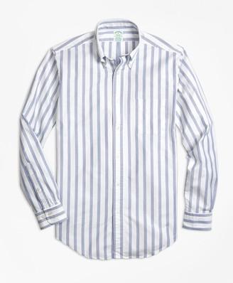 Brooks Brothers Milano Fit Oxford BB#1 Stripe Sport Shirt