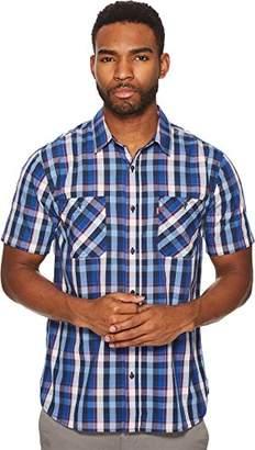 Levi's Men's Barrington Short Sleeve Plaid Shirt