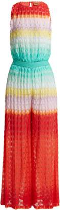 Missoni MARE Fish-scale pattern jumpsuit