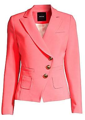 Smythe Women's Wrapped Asymmetric Blazer
