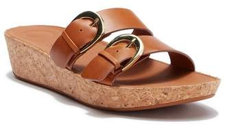 FitFlop Duo Buckle Slide Sandals