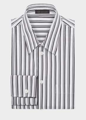Versace Striped Cotton Shirt