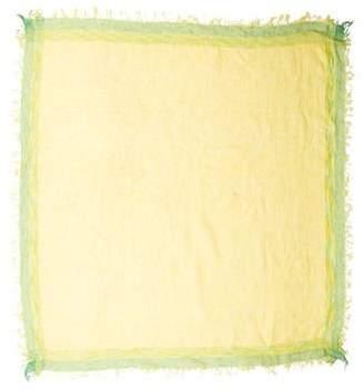 Malo Patterned Linen Scarf