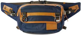 MASTERPIECE Master Piece Potential Leather Trim Waist Pack
