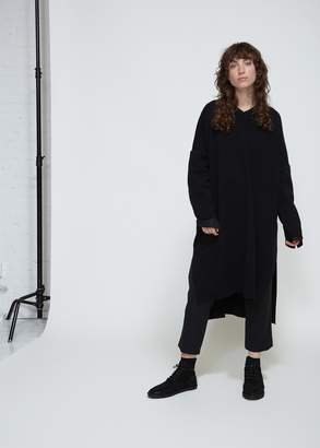 Yohji Yamamoto Y's by Long Sleeve V-Neck Dress
