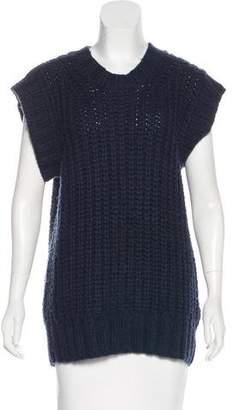 Nlst Cap Sleeve Heavy-Knit Sweater