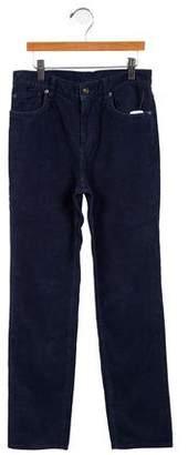 Brooks Brothers Corduroy Mid-Rise Straight-Leg Pants w/ Tags
