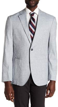 FLYNT Bueller Notch Collar Long Sleeve Classic Fit Sport Coat