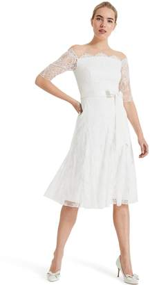 Next Womens Phase Eight Evette Lace Wedding Dress