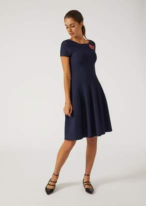 Emporio Armani Flared Knit Dress