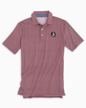 3707e0cea1a Southern Tide FSU Seminoles Plaid Polo Shirt