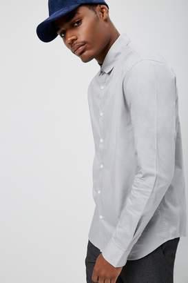 Forever 21 Slim-Fit Shirt