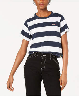 Dickies Cotton Rugby Cropped T-Shirt