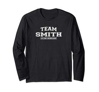 Team SMITH Long Sleeve T-Shirt | Surname Family Gift