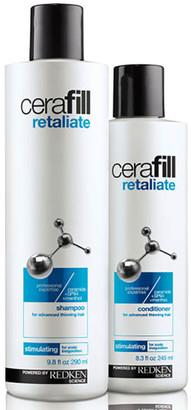 Redken Cerafill Retaliate Shampoo (290ml) & Conditioner (245ml) (Bundle)