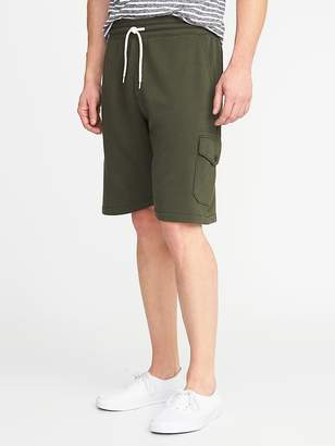 Old Navy French Terry Cargo Shorts for Men - 8-inch inseam