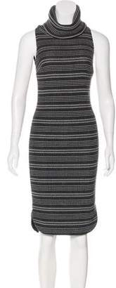 Intermix Tweed Midi Dress