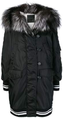 Ermanno Scervino sports trim padded coat