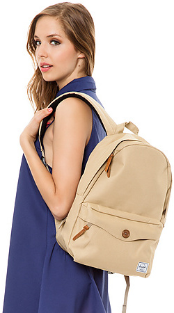Herschel Supply The Sydney Mid Volume Backpack in Khaki