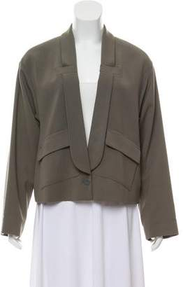 See by Chloe Wool Blend Shawl Lapel Blazer