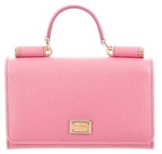 Pre-Owned at TheRealReal · Dolce   Gabbana Mini Sicily Von Phone Crossbody  Bag 80c3ac95f51da