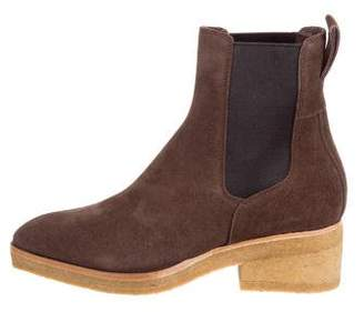 Dries Van Noten Suede Ankle Boots w/ Tags